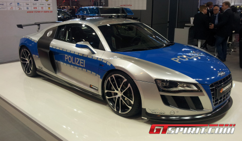 Essen 2011 ABT R8 GT R Police Car by Tune IT! Safe! Magazine
