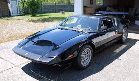 For Sale 1973 DeTomaso Pantera with 900hp