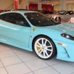 For Sale Ferrari 430 Scuderia in Tiffany Blue