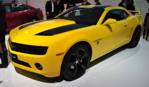Chevy Camaro Transformers Edition