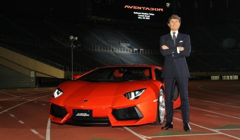 Lamborghini Aventador LP700-4 Debuts in Japan