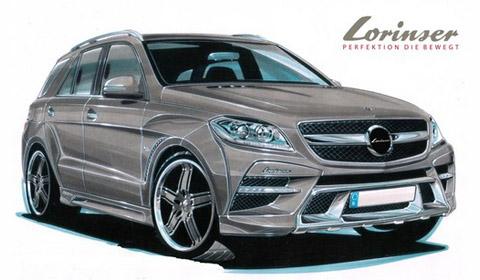 Rendering: Lorinser Mercedes M-Class