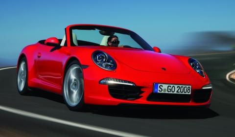 Official 2013 Porsche 911 (991) Carrera S Convertible