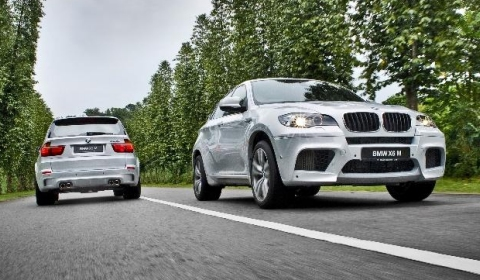 Official BMW Individual X5 M and X6 M for Asia