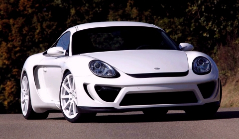 Official Delavilla R1 Based on Porsche Cayman
