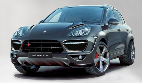 Official Hofele Cayster GT 670 for Cayenne 958