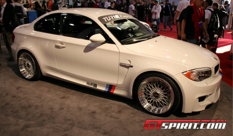 SEMA 2011 BMW 1-Series M Coupe by H&R