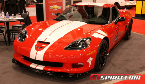 SEMA 2011 Corvette Z06 Ron Fellows 'Hall of Fame' Tribute