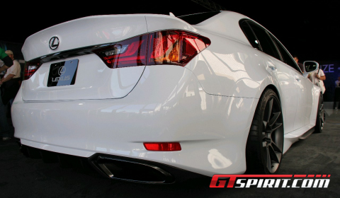 SEMA 2011 Fire Axis Lexus GS 350 F Sport Concept