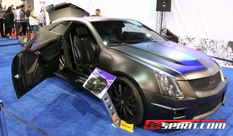 SEMA 2011 Justin Bieber's Cadillac CTS-V Coupe