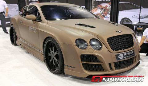 SEMA 2011 Prior Design Bentley Continental GT