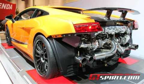 Sema 2011 Underground Racing Twin Turbo Gallardo Superleggera