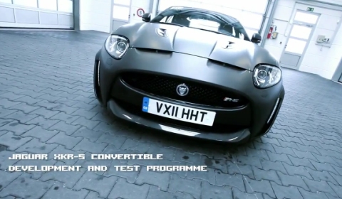 Video 2012 Jaguar XKR-S Convertible Extended Promo Clip