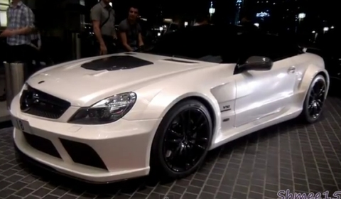 Video Brabus Stealth SL65 AMG Black Series in Dubai