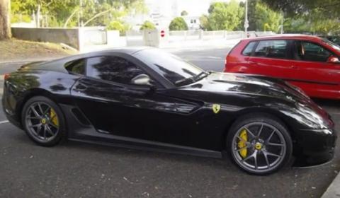 Video Cristiano Ronaldo´s Ferrari 599 GTO in Portugal