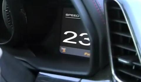 Video Ferrari 458 Italia in Qatar Doing 245km/h