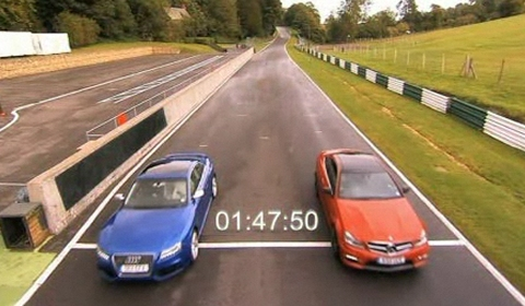 Video Fifth Gear Tests Audi RS5 vs Mercedes-Benz C 63 AMG Coupe