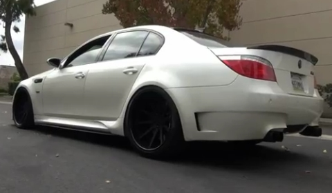 Video Insane BMW E60 M5 aka Gunther