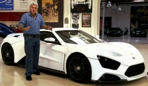 Video Jay Leno's Garage in Zenvo ST1