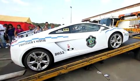 Video Lamborghini Gallardo Policia de Panamá