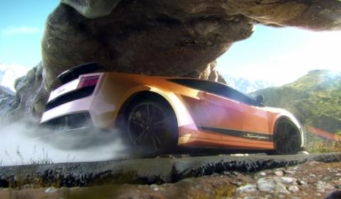 Video Lamborghini Gallardo Superleggera 3D Animation