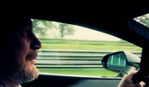 Video Lamborghini LP570-4 Superleggera Drive with Valentino Balboni