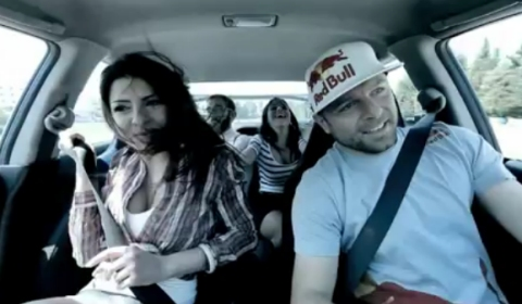Video Lebanese Rally Champion Shows Passengers His Drift Skills