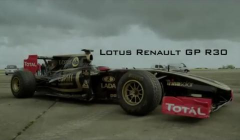Video Lotus Renault GP Does 0-300km/h