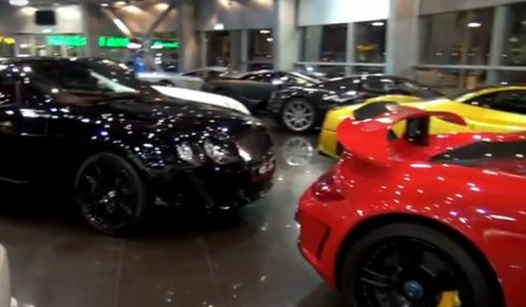 Video One of the Best Supercar Showrooms - Alain Class Dubai