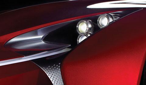 2012 Lexus Detroit Concept Teaser