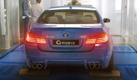 2012 BMW F10M M5 Enters G-Power Workshop