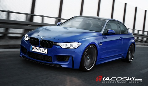 Rendering: 2013 F80 BMW M3 Coupé
