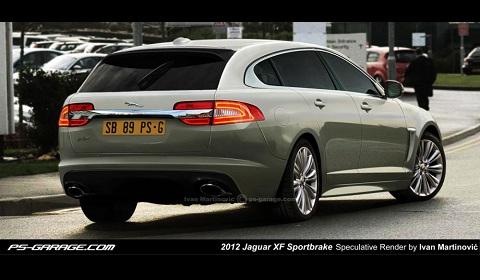 2013 Jaguar XF Sportbrake Rendering