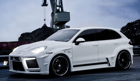 ASMA Design Porsche Cayenne Turbo The Giant
