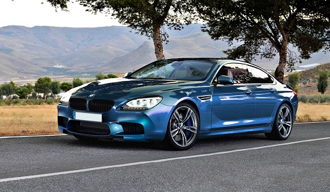 BMW M6 Gran Coupe Rendering