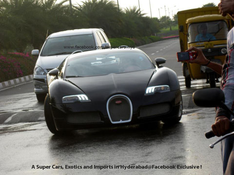 Bugatti Veyron Vs Speed Bump Gtspirit