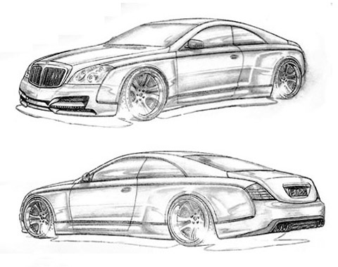 FAB Design Maybach Coupe