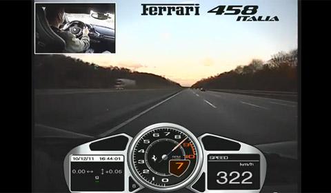 Ferrari 458 Autobahn