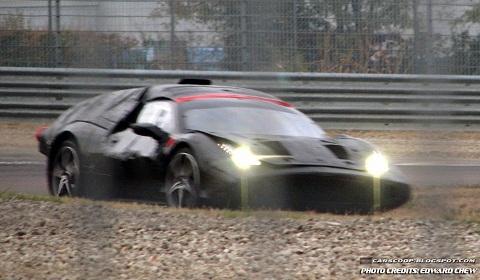 Ferrari Enzo Replacement Spyshots