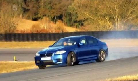 Fifth Gear BMW M5 F10