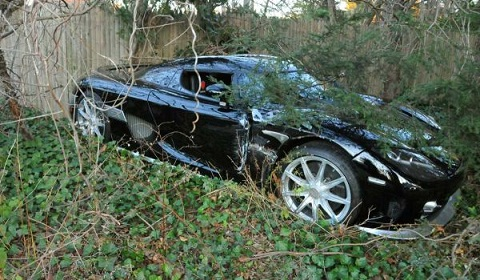 Koenigsegg CCX Crash on Long Island