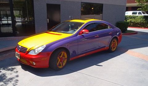 Multi Coloured Mercedes CLS 550