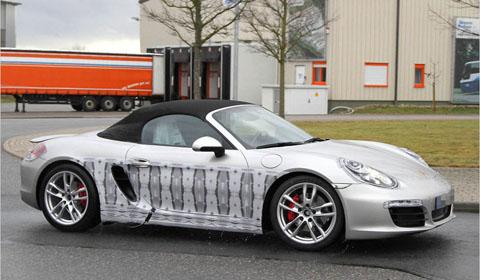 Spyshots: 2013 Porsche Boxster