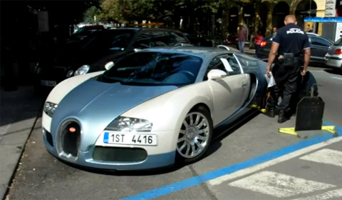 video clamped bugatti veyron gtspirit. Black Bedroom Furniture Sets. Home Design Ideas