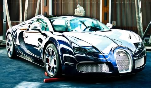 Bugatti Veyron L'Or Blanc in Miami Beach