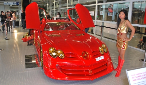For Sale McLaren SLR 999 Red Gold Dream by Ueli Anliker
