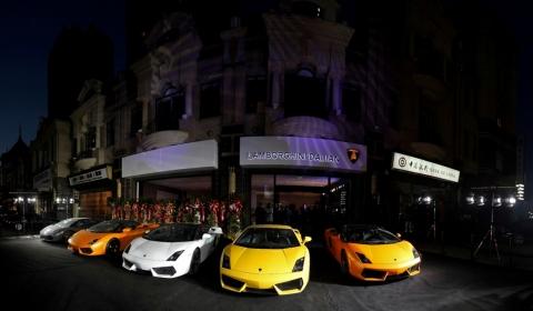 Lamborghini Dalian Opening