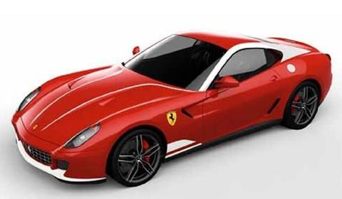 Official Ferrari 599 GTB 60F1