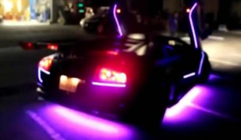 Overkill Lamborghini Troncielago in Arabia