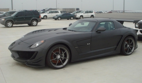 Spotted Mansory SLS AMG Cormeum in China